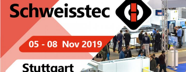 exhibition Schweisstec banner top
